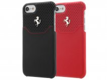 Ferrari Lusso Hard Case - Leren iPhone 8/7 hoesje