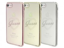Guess Heart TPU Case - iPhone 7 hoesje