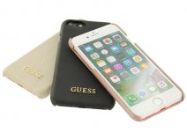 Guess Saffiano Hard Case - iPhone 7 hoesje