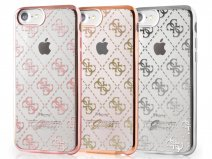 Guess Monogram TPU Case - iPhone 8/7 hoesje