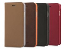 Knomo Premium Folio Case - Leren iPhone 8/7 Hoesje