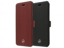 Mercedes-Benz Perf Leather Bookcase - iPhone 8/7 hoesje
