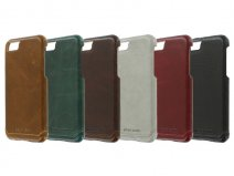 Pierre Cardin Slim Case - Leren iPhone 8/7 hoesje
