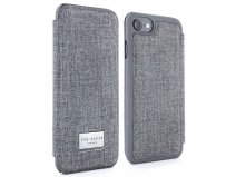 Ted Baker Carva Folio Case Grey - iPhone 8/7/6s Hoesje