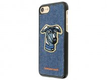 Trussardi Jeans Denim Dog Case - iPhone 8/7 hoesje