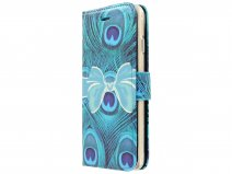 Peacock Bookcase Flipcase - iPhone 8/7 hoesje