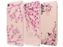 Blossom Series Crystal TPU Case - iPhone 7 hoesje