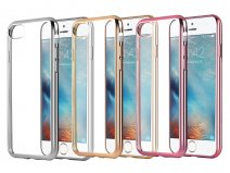 Crystal Edge TPU Case - Doorzichtig iPhone SE 2020 / 8 / 7 hoesje