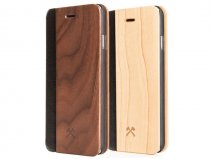 Woodcessories EcoFlip - Houten iPhone SE 2020 / 8 / 7 hoesje