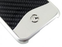 Mercedes-Benz Carbon Hard Case - iPhone 8+/7+ hoesje