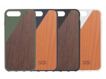 Native Union CLIC Wooden - Houten iPhone 8+/7+ hoesje