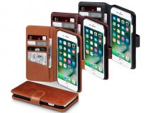 CaseBoutique Leather Bookcase - Leren iPhone 8+/7+ hoesje