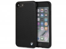 BMW Perforated Case Zwart Leer - iPhone 8/7/6 hoesje