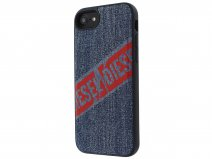 Diesel Denim Back Case - iPhone SE 2020 / 8 / 7 / 6(s) hoesje