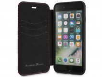 Ferrari Heritage Stitch Book Rood Leer - iPhone 8/7/6 hoesje