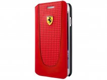 Ferrari Pit Stop Bookcase - iPhone 8/7/6 Hoesje
