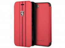 Ferrari Urban Off Bookcase Rood - iPhone 8/7/6 hoesje