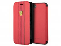 Ferrari Urban Bookcase Rood - iPhone 8/7/6 hoesje