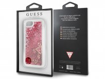 Guess Floating Logo Case Roze - iPhone 8/7/6 hoesje