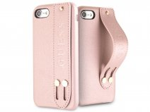 Guess Iridescent Strap Case Rosé - iPhone SE 2020 / 8 / 7 / 6(s) hoesje