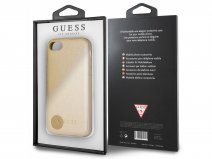 Guess Iridescent Case Goud - iPhone 8/7/6s hoesje
