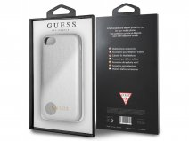 Guess Iridescent Case Zilver - iPhone 8/7/6s hoesje