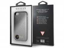 Guess Iridescent Case Zwart - iPhone 8/7/6s hoesje