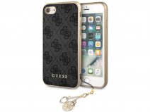Guess Monogram Charm Case Grijs - iPhone SE 2020 / 8 / 7 / 6(s) hoesje