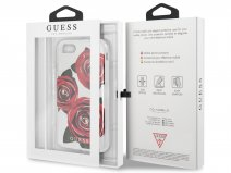 Guess Red Roses TPU Skin - iPhone 8/7 hoesje