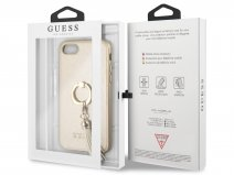 Guess Tassel iRing Case Goud - iPhone 8/7/6s hoesje