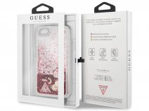 Guess Floating Logo Case Roze - iPhone SE 2020 / 8 / 7 / 6(s) hoesje