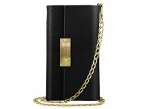 iDeal of Sweden Kensington Clutch Zwart - iPhone 8/7/6 Hoesje