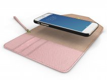 iDeal of Sweden Mayfair Clutch Roze voor iPhone 8/7/6