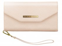 iDeal of Sweden Mayfair Clutch Beige voor iPhone 8/7/6