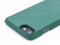 Jack Wills Saffiano Case Groen - iPhone 8/7/6 Hoesje