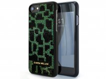 Karen Millen Jeweled Leopard Case - iPhone 8/7/6 Hoesje
