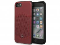 Maserati Leather Case - iPhone 8/7/6 Hoesje Leer