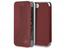 Mercedes-Benz Curve Rood Leer - iPhone 8/7/6 hoesje