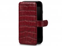 Sena Classic WalletBook Red Croco - iPhone 8/7 hoesje