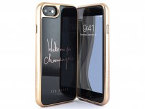 Ted Baker Champagne HD Glass Case - iPhone 8/7/6 Hoesje
