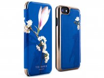 Ted Baker Bryony Folio Case Blauw - iPhone 8/7/6 Hoesje