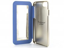 Ted Baker Shannon Folio Mid Blue - iPhone 8/7/6 Hoesje