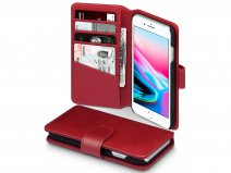 CaseBoutique Bookcase Rood Leer - iPhone 8/7 hoesje
