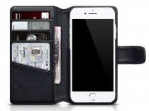 CaseBoutique Bookcase Zwart Leer - iPhone 8/7 hoesje