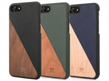 Woodcessories EcoSplit - Houten iPhone 8/7 hoesje