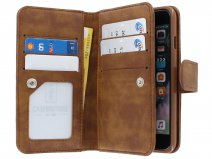 True Wallet Book Case XL Bruin - iPhone 8+/7+ hoesje