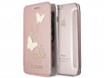 Guess Butterfly Studs Bookcase - iPhone 8+/7+/6+ hoesje