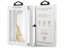 Guess Floating Logo Case Goud - iPhone 8+/7+/6+ hoesje