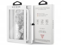 Guess Floating Logo Case Zilver - iPhone 8+/7+/6+ hoesje