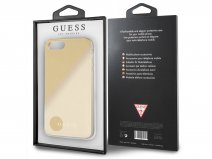 Guess Iridescent Case Goud - iPhone 8+/7+/6+ hoesje